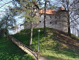 the castle in Karlovac (Dubovac)